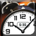 iPhone/iPadアプリ「Classic Clock HD Free - Alarm Clock Timer and Stopwatch」のアイコン