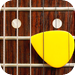 Guitar Chords - 6 string guitar with fretboard and chord learning tool